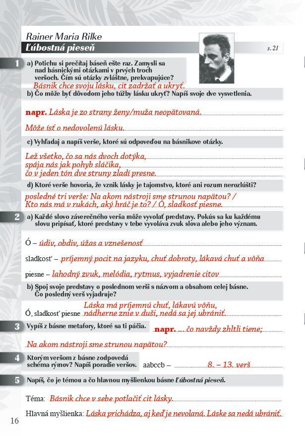Náhľad: Zošit pre učiteľa - Pomocník z literatúry 8 ZŠ a 3 GOŠ (4)