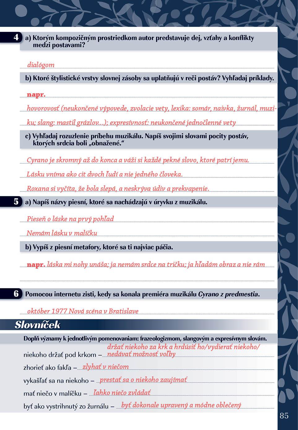 Náhľad: Zošit pre učiteľa - Pomocník z literatúry 9 ZŠ a 4 GOŠ (4)