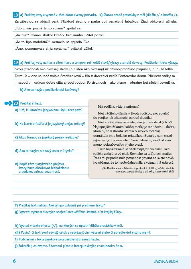 Náhľad: Príprava na Testovanie 9 zo slovenského jazyka a literatúry (3)
