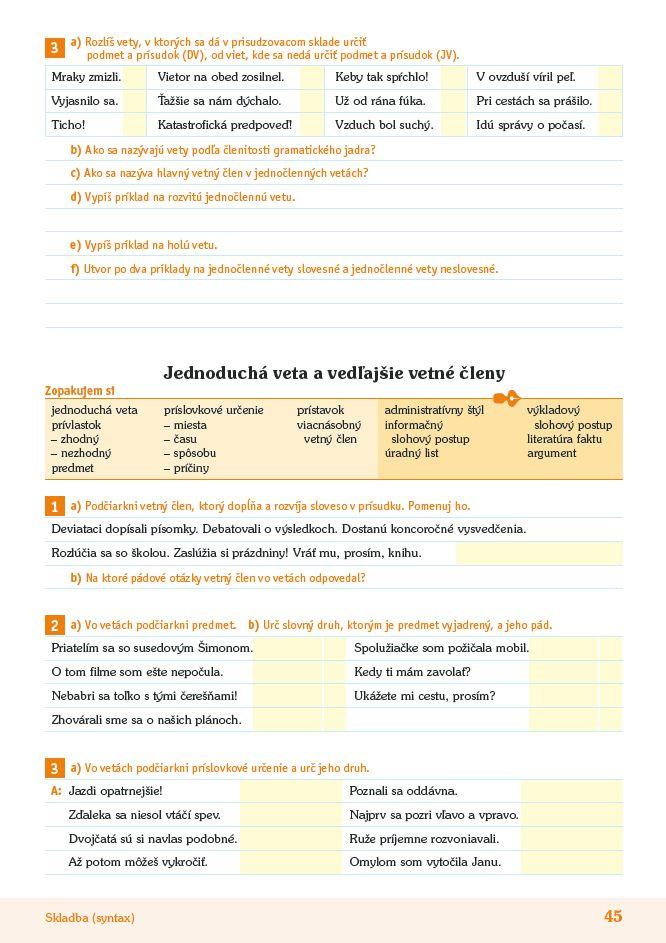 Náhľad: Príprava na Testovanie 9 zo slovenského jazyka a literatúry (7)