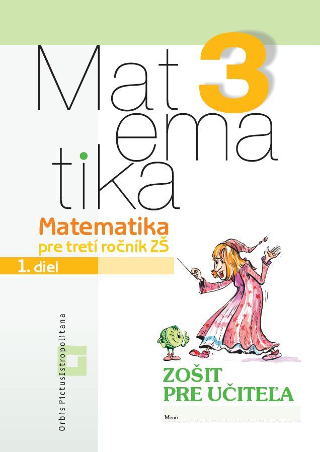 Náhľad: Matematika 3/ 1 - Zošit pre učiteľa