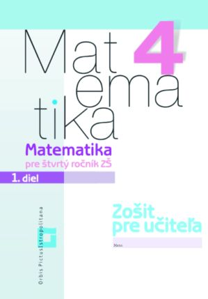 Náhľad: Matematika 4/ 1 - Zošit pre učiteľa