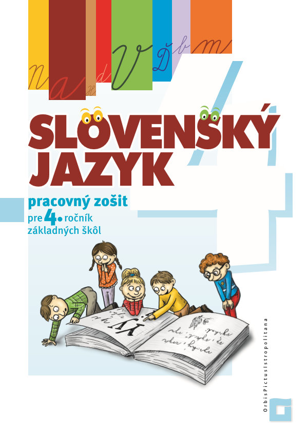Náhľad: Slovenský jazyk - Pracovný zošit pre 4. ročník ZŠ