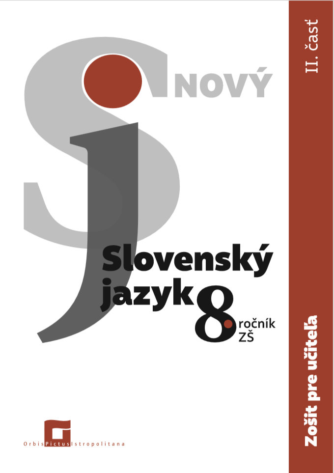Náhľad: ZPU - Nový Slovenský jazyk 8. roč. - 2. časť