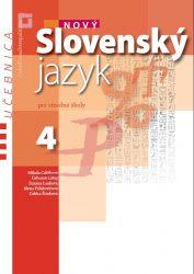 NOVÝ Slovenský jazyk pre SŠ 4 – učebnica